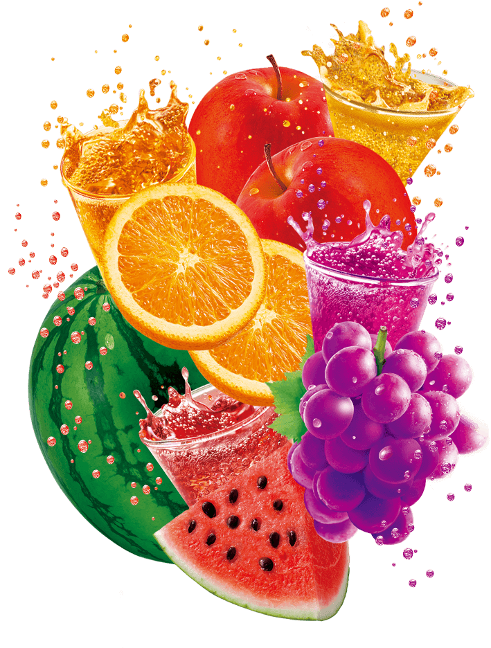 Fruit Soda 4 Flavors